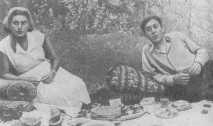 Светлана и Василий Сталины. / Фото: www.e-libra.ru