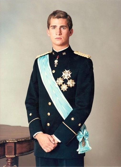 Принц Фелипе. / Фото: www.beon.ru