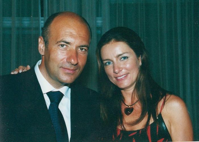 Игорь Крутой с женой Ольгой. / Фото: www.igorkrutoy.com