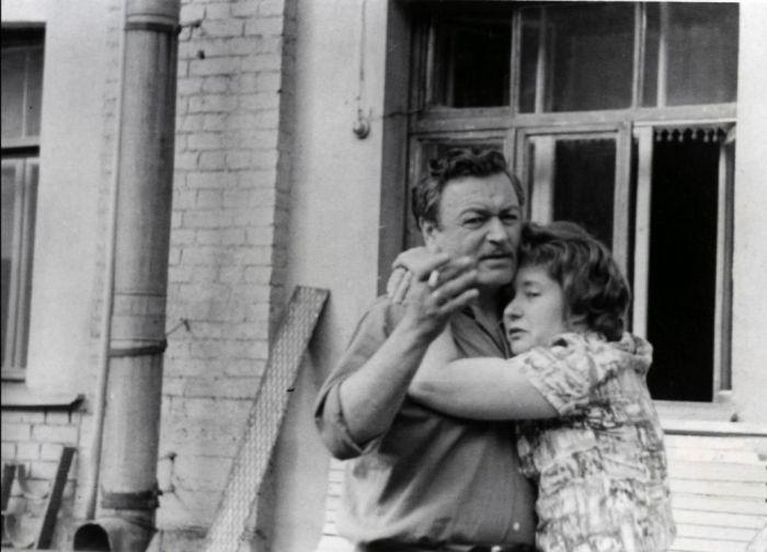Ефим Копелян и Людмила Макарова, 1960-е - 1970-е годы. / Фото: www.bdt.spb.ru