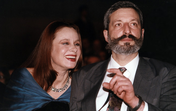 Любовь Полищук и Сергей Цигаль. / Фото: www.woman.ru