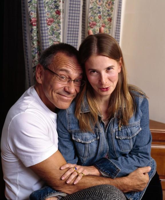 Андрей Кончаловский и Юлия Высоцкая. / Фото: www.woman.ru