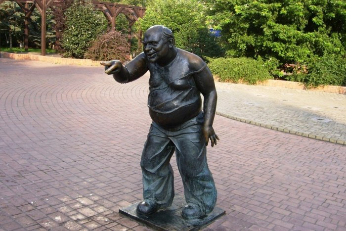 Памятник Доценту, 2001 год. / Фото: www.603i7.com