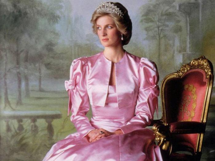 Принцесса Диана. / Фото: www.ru-portret.ru