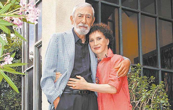 Вахтанг и Ирина Кикабидзе. / Фото: www.stuki-druki.com