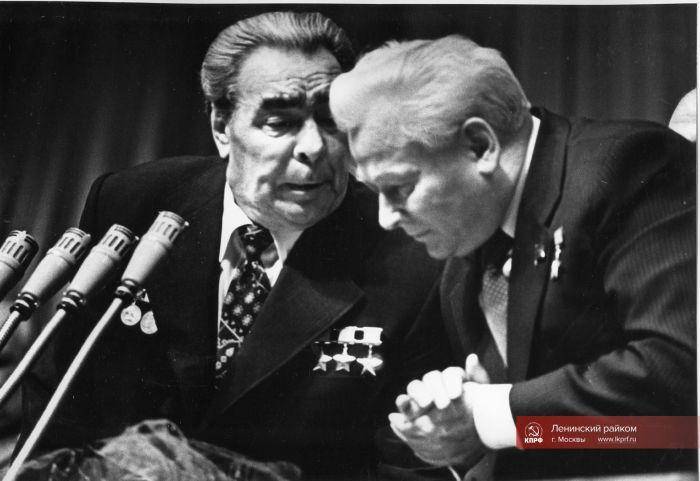 Леонид Брежнев и Константин Черненко. / Фото: www.lkprf.ru