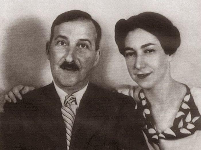 Стефан Цвейг с женой Шарлоттой. / Фото: www.izbrannoe.com