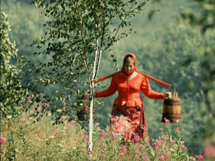 Галина Лучай, кадр из фильма «Белое Солнце пустыни», 1969 год. / Фото: www.playcast.ru