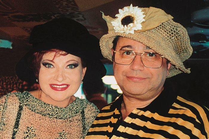 Евгений Петросян и Елена Степаненко, 1990-е годы. / Фото: www.e-petrosyan.ru