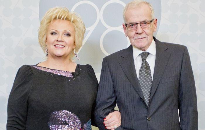 Анне Вески и Бенно Бельчиков. / Фото: www.livejournal.com