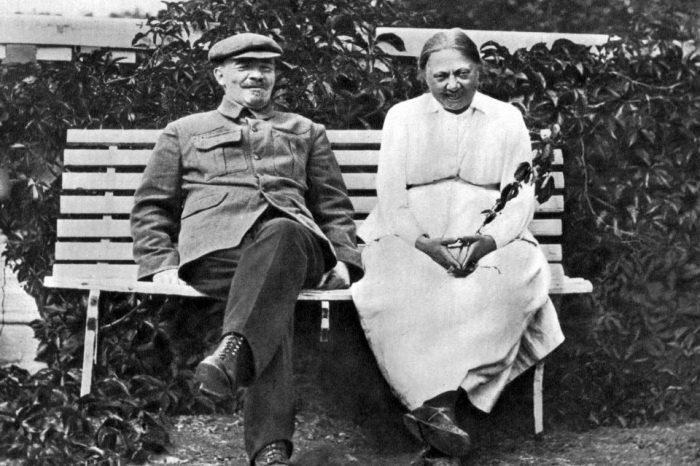 Владимир Ульянов и Надежда Крупская. / Фото: www.sensum.club