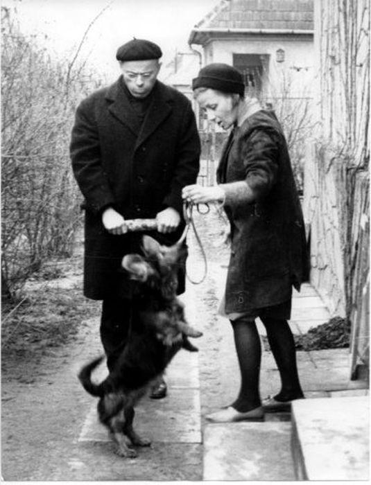 Станислав Лем и Барбара Лесьняк, 1966 г. / Фото: www.lem.pl