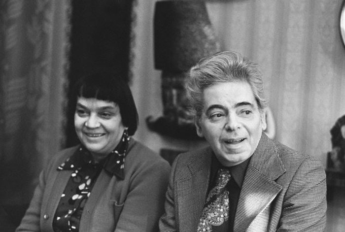 Аркадий Райкин и Руфь Иоффе. / Фото: www.teatral-online.ru