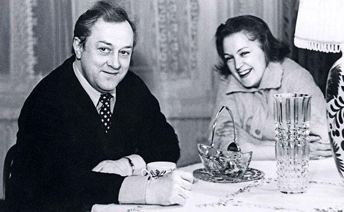 Владислав Стржельчик и Людмила Шувалова. / Фото: www.love-psy.ru
