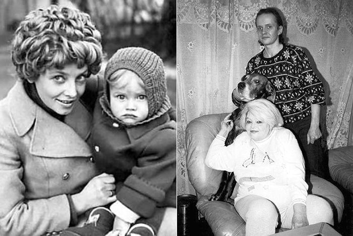 Дмитрий Егоров с мамой Натальей Кустинской. / Фото: www.24smi.org