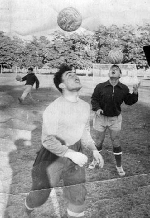Зураб Соткилава в юности на тренировке. / Фото: www.gamebet.news
