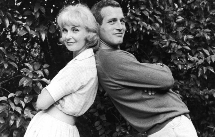 Пол Ньюман и Джоан Вудворд. / Фото: www.wordpress.com