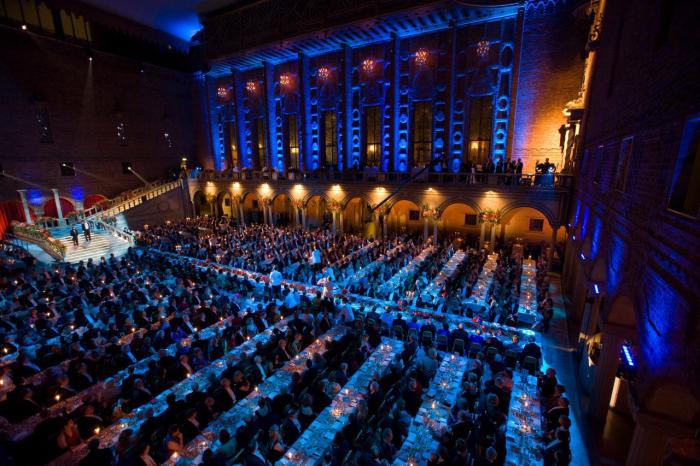 Нобелевский банкет поистине незабываемое событие. / Фото: www.youbioit.com