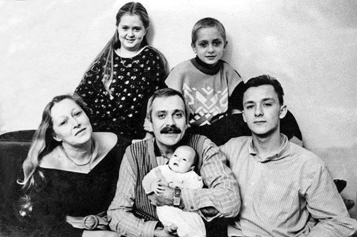 Семья. 1987 г. / Фото: www.rutlib2.com