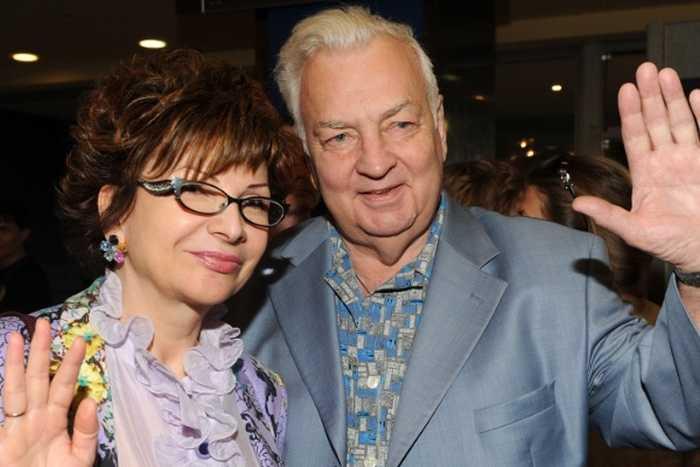 Михаил Державин с супругой. / Фото: www.gold-women.ru