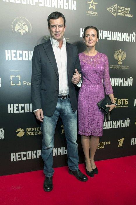 Андрей Чернышов и Мария Добржинская.  / Фото: www.domashnyochag.ru
