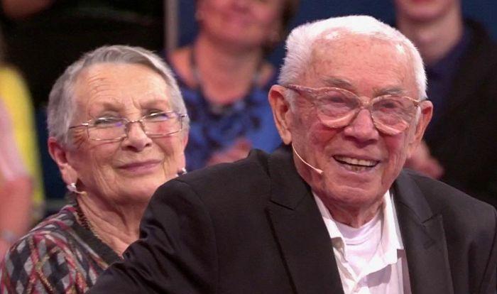 Олег Анофриев и Наталья Отливщикова. / Фото: www.1tv.ru