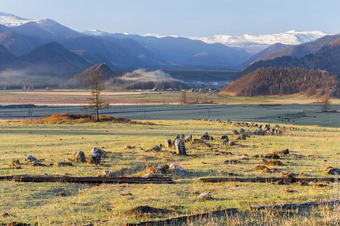Вид на долину из села Кулада. / Фото: www.altai-photo.ru