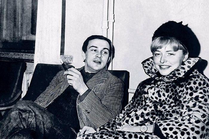 Муслим Магомаев и Людмила Фиготина. / Фото: www.7days.ru