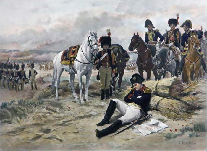 Отступление Наполеона из Москвы, Эдуард Деба-Понсон. / Фото: www.reibert.info