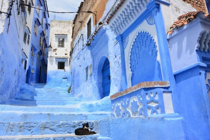 Синяя улочка. / Фото: www.blog.kudoybook.com