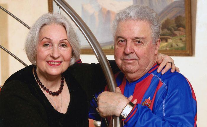 Михаил Танич и Лидия Козлова. / Фото: www.vokrug.tv