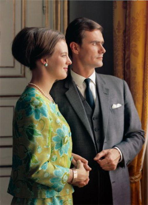 Королева Маргрете II и принц Хенрик. / Фото: / Фото: www.mydtskov.dk