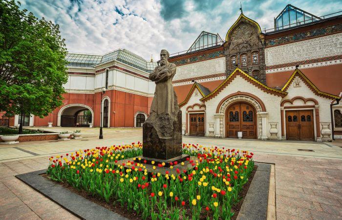 Государственная Третьяковская галерея. / Фото: www.tsarvisit.com