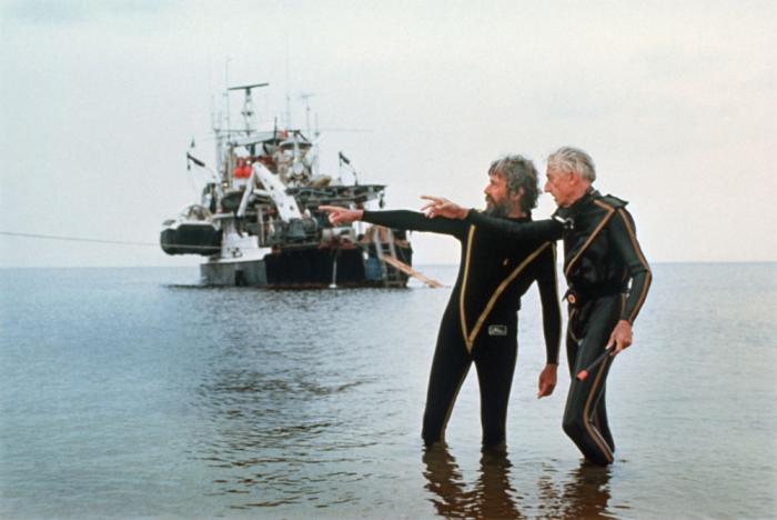 Жак-Ив и Жан-Мишель Кусто во время экспедиции на «Калипсо». Амазонка, 1975 г. / Фото: www.newtimes.ru