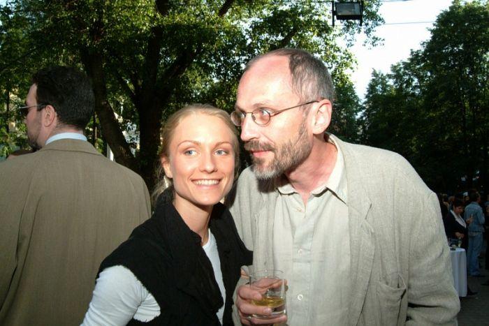 Александр Гордон и Екатерина Подлипчук. / Фото: www.woman.ru