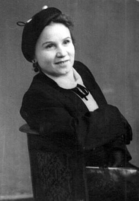 Мария Скворцова в молодости. / Фото: www.mycdn.me