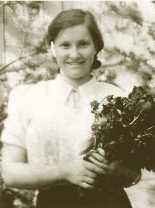 Антонина Васильева, 1941 год. / Фото: www.loveread.me
