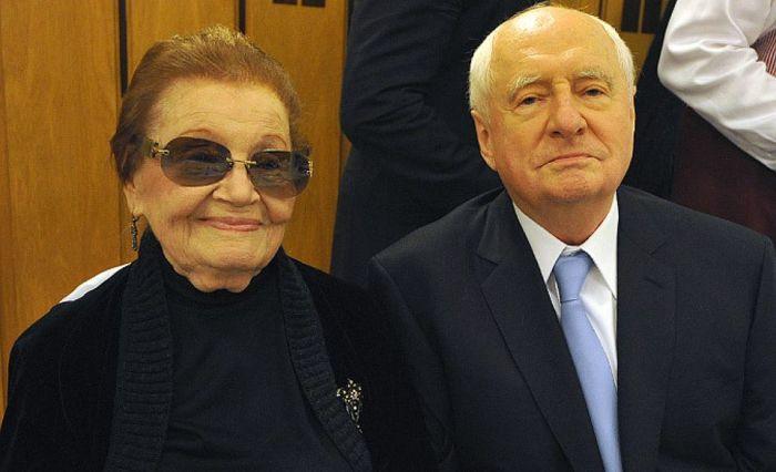 Марк Захаров и Нина Лапшинова. / Фото:  www.kpcdn.net