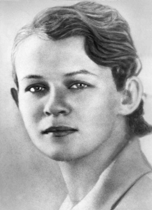 Татьяна Есенина, 1938 год. / Фото: www.iknigi.net