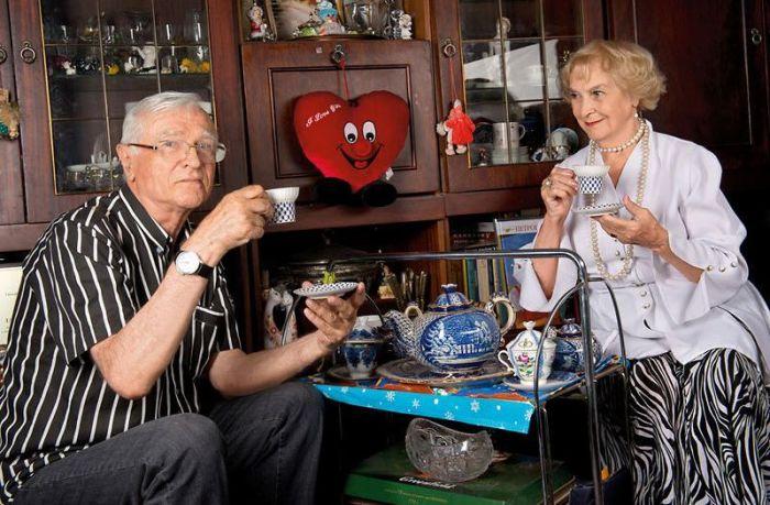 Татьяна Пилецкая и Борис Агешин. / Фото: www.7days.ru