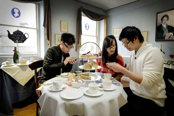 Regency Tea Room. / Фото: www.janeausten.co.uk