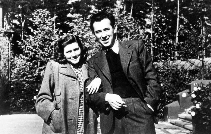 Светлана Сталина с мужем, Григорием Морозовым. / Фото: www.kommersant.ru