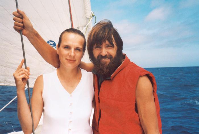 Ирина Умнова и Фёдор Конюхов.  / Фото: www.oblgazeta.ru