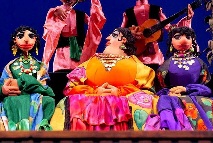 "Кадр из ""Необыкновенного концерта"". / Фото: www.puppet.ru"