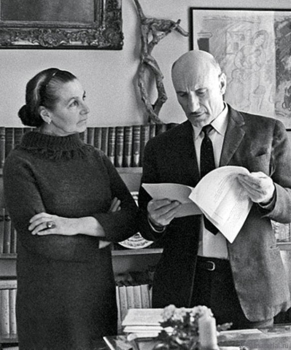 Сергей Герасимов и Тамара Макарова. / Фото: www.gallery.ru