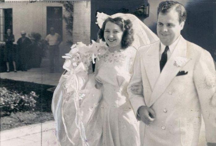 Мэй Капоне и Аль Капоне в день свадьбы. / Фото: www.24smi.org