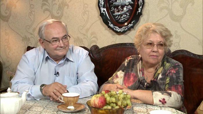 Всеволод Шиловский с женой Натальей. / Фото: www.1tv.ru