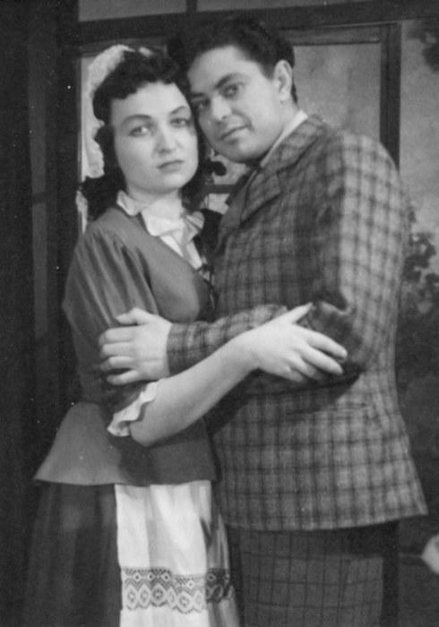 "Донатас Банионис, спектакль ""Наследник Рабурдена"", 1953. / Фото: www.kino-teatr.net"