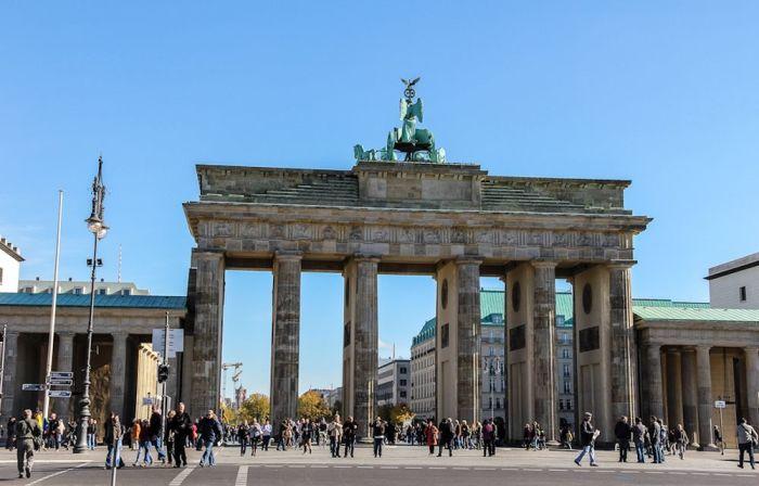 Бранденбургские ворота. / Фото: www.travel.ru