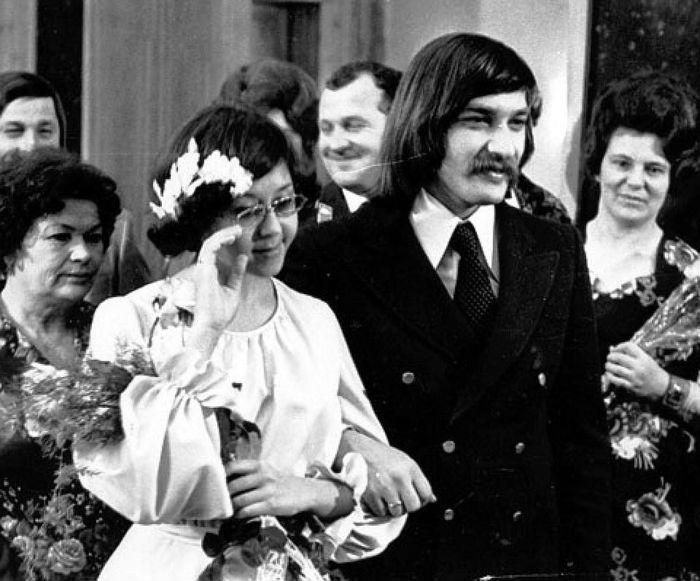 Бракосочетание Александра Тихановича и Ядвиги Поплавской. / Фото: www.lifter.com.ua